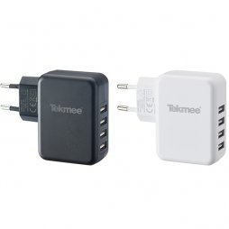Wall Charger USB 4 Ports 4.8A - Tekmee