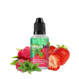 Concentrate Raspberry Mint & Wild Strawberry Ice Tea Deep Red Edition 30ml - Freeze Tea