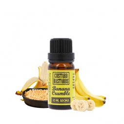 Concentrate Banana Crumble 10ml - Custard Bastards by FlavorMonks