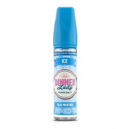 Blue Menthol 0mg 50ml - Ice by Dinner Lady