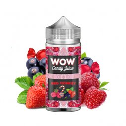 Red Monkey 0mg 100ml - WOW by Candy Juice